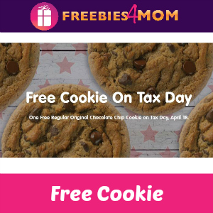 Free Tax Day Cookie at Great American Cookies