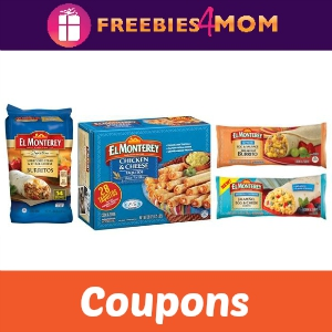 Save on El Monterey Taquitos, Chimi's & Burritos