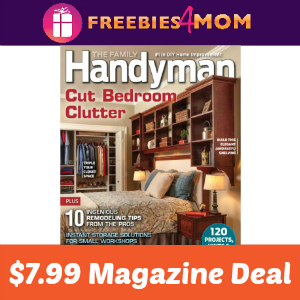 Magazine Deal: Family Handyman $7.99