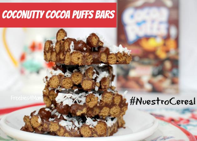 Coconutty Cocoa Puffs Bars Recipe