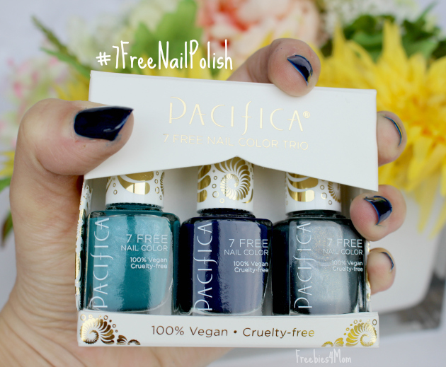 Try Pacifica 7 Free Nail Color