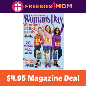 Magazine Deal: Woman's Day $4.95