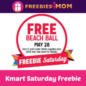 Free Beach Ball at Kmart Saturday