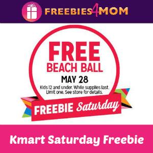 Free Beach Ball at Kmart Saturday