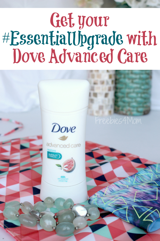 Upgrade your Beauty Essentials with Dove Advanced Care