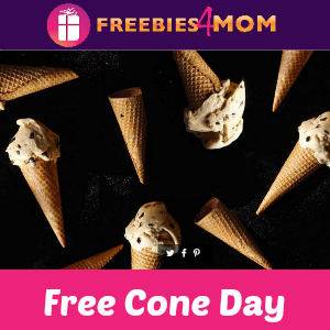 Free Cone Day at Haagen-Dazs May 9