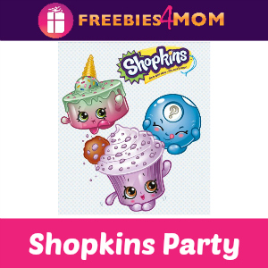 Shopkins Swap-kins Party at Toys R Us