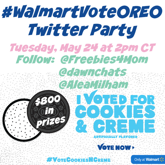 #WalmartVoteOREO Twitter Party