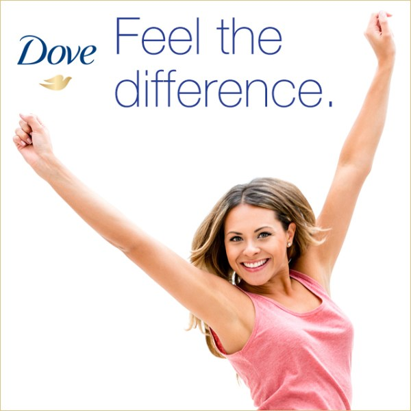 Feel the Difference with Dove Advanced Care from Walmart
