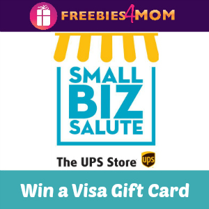 Sweeps UPS Store Small Biz Salute
