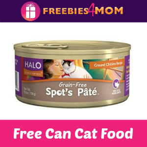 Free Can of Halo Cat Food + Coupons