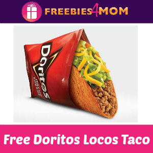 Free Doritos Locos Taco at Taco Bell June 13