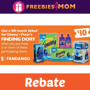 Rebate: Finding Dory Ticket at Sam's