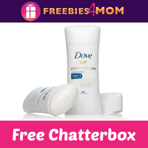 Chatterbox: Dove Advanced Care Anti-Perspirant