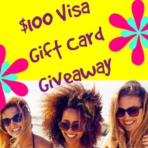 $100 Visa Gift Card Giveaway Winner