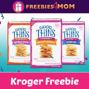 Free Good Thins at Kroger