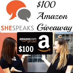 $100 Amazon Gift Card Giveaway Winner