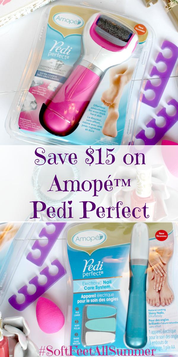 Save $15 on Amopé™ Pedi Perfect at Walgreens (56% off Regular Price)