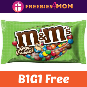 Coupon: B1G1 Free M&M's Crispy Chocolate