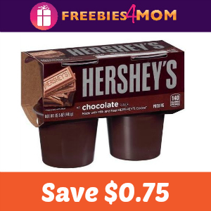 $0.75 off Hershey's Ready-to-Eat Pudding