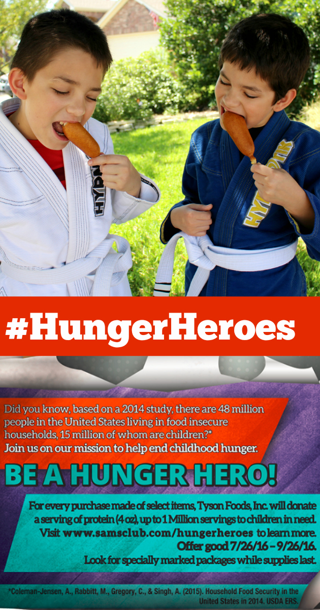 Be a Hunger Hero at Sam's Club with Tyson®