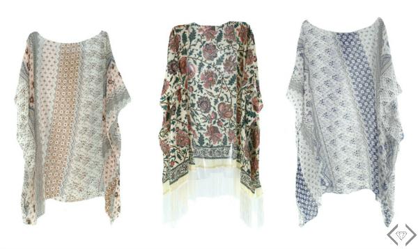 Kimonos Starting at $9.95