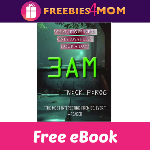 Free eBook: 3 AM ($5.99 Value)