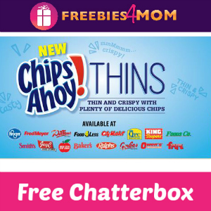 Free Chatterbox: Chips Ahoy! Thins Kroger