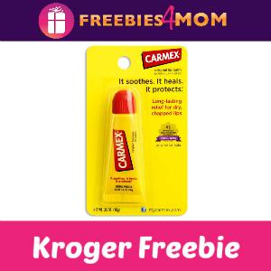 Free Carmex Lip Care at Kroger