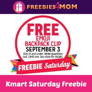 Free Emoji Backpack Clip at Kmart Sept. 3