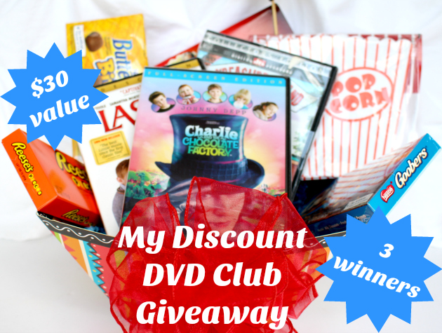My Discount DVD Club Giveaway (3 winners)
