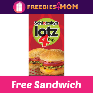Free Original Sandwich at Schlotzsky's