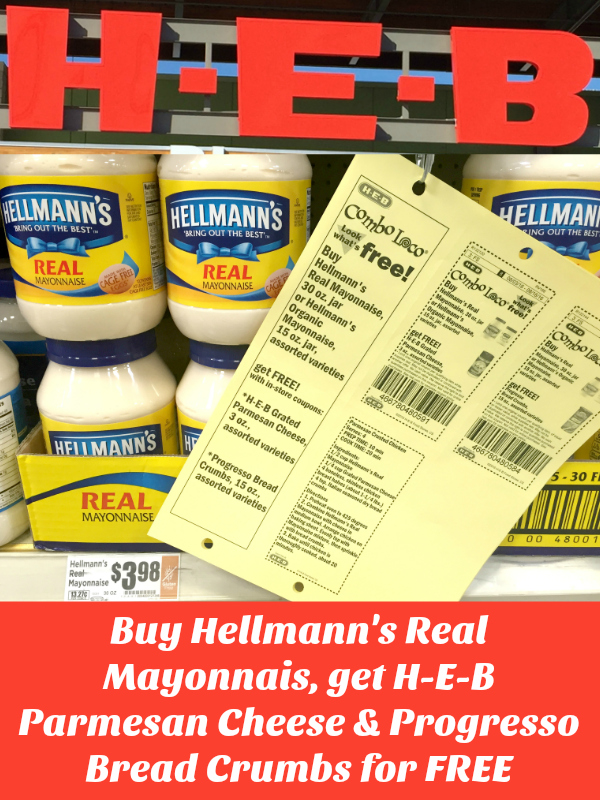 Hellmann's Real Mayonnaise Deal at H-E-B