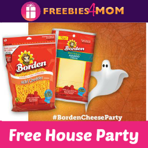 """Free House Party: Say """"Boo"""" with Borden Cheese"""