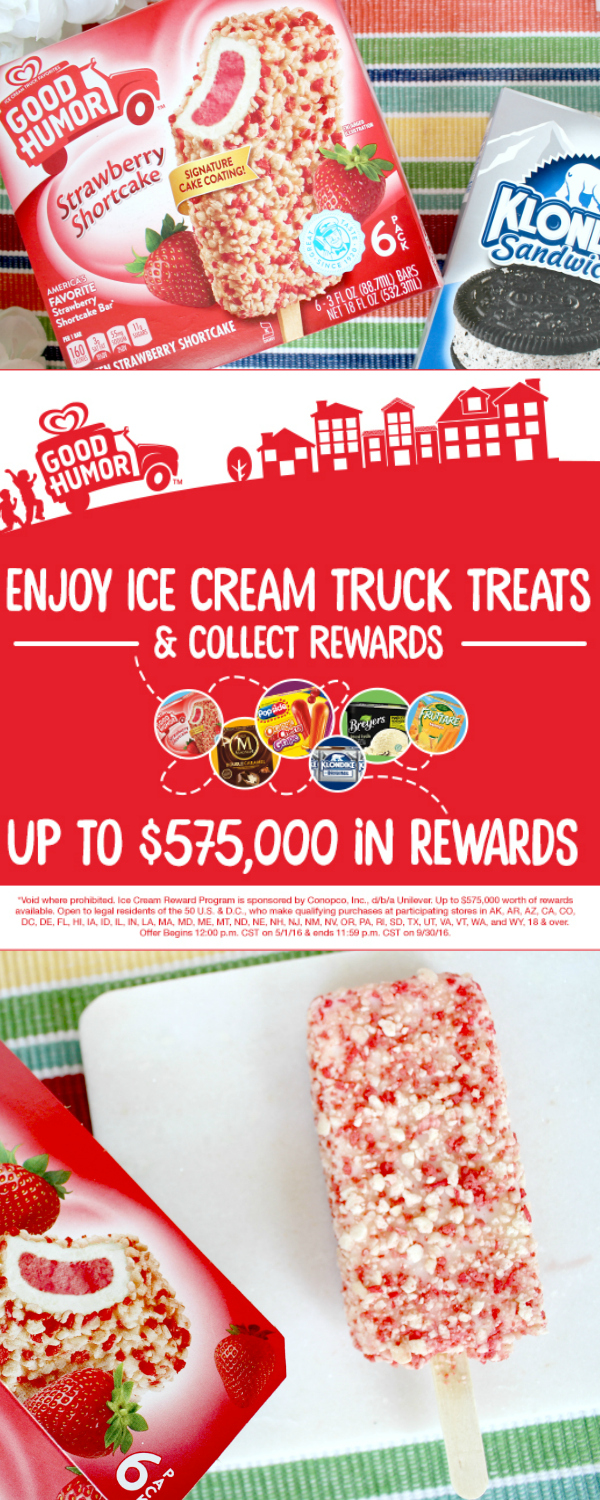 Indulge in Good Humor and Get Your Ice Cream Rewards