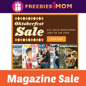 Oktoberfest Magazine Sale