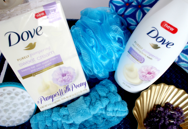 Try Dove Purely Pampering Nourishing Body Wash