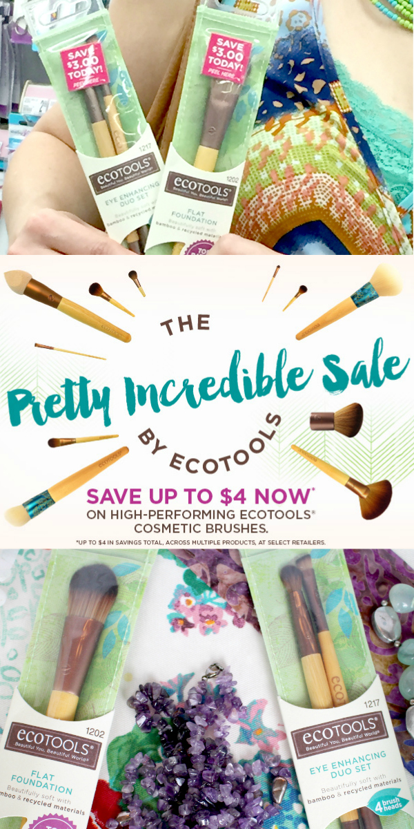 Save up to $4 on EcoTools® Cosmetic Brushes