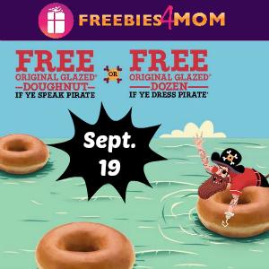 Free Doughnut (Or a Dozen!) at Krispy Kreme