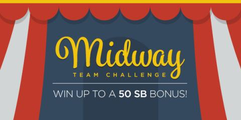 Join the Swagbucks Midway Team Challenge