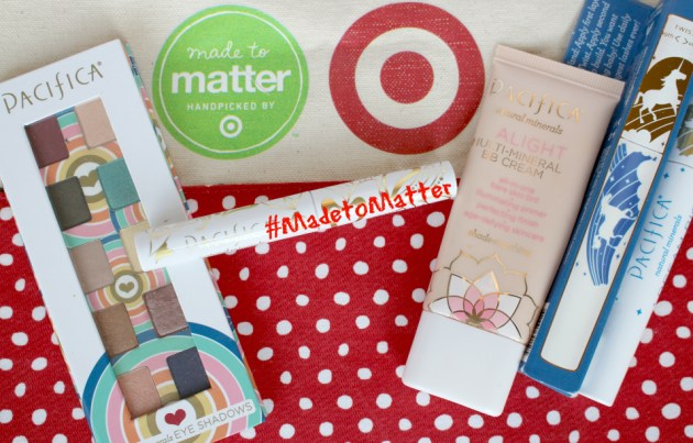 Pacifica products #MadetoMatter from Target
