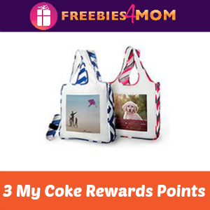 Reusable Shopping Bag for 3 My Coke Rewards