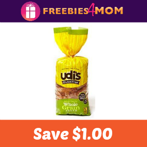 Coupon: $1.00 off one Udi's Gluten Free Bread
