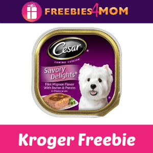 Free Cesar Wet Dog Food at Kroger