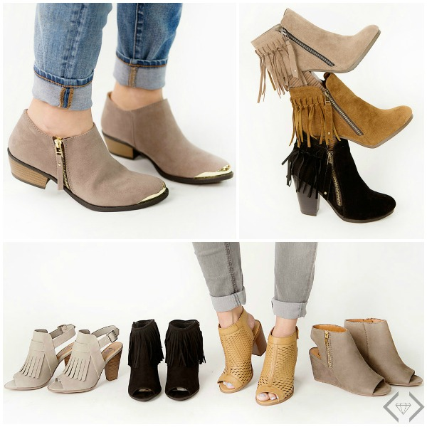 30% off all Boots at Cents of Style (Start at $14)