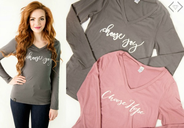 Choose T-shirts $15.95 and Long Sleeve $16.95
