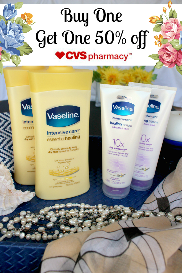 Buy One, Get One 50% off Vaseline products at CVS