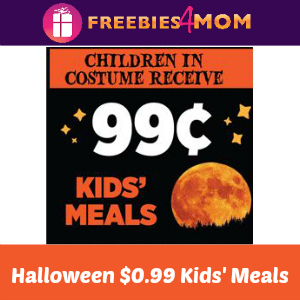 $0.99 Kids' Meals at Applebee's Oct. 31