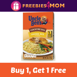 Buy 1 Uncle Ben's Country Inn Rice Get 1 Free