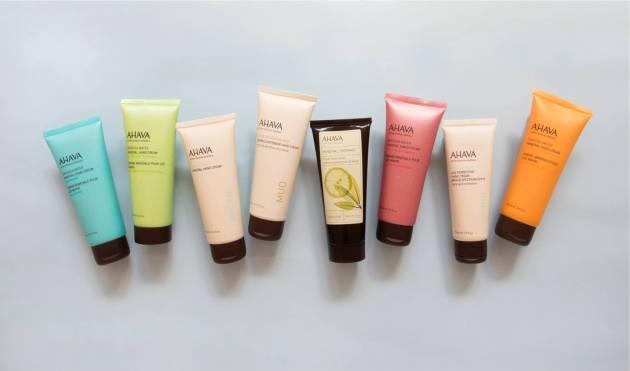 Try AHAVA Hand Cream or Body Cream for FREE